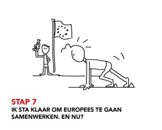STAP 7 Ik sta klaar om Europees te gaan samenwerken, en nu?